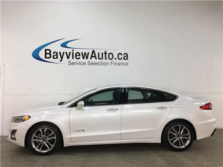 2019 Ford Fusion Hybrid Titanium (Stk: 37097R) in Belleville - Image 1 of 27
