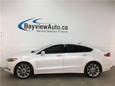 2017 Ford Fusion Platinum (Stk: 37277W) in Belleville - Image 1 of 28