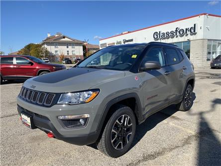 2021 Jeep Compass Trailhawk (Stk: 21-014) in Ingersoll - Image 1 of 20