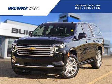 2021 Chevrolet Suburban High Country (Stk: T21-1590) in Dawson Creek - Image 1 of 18