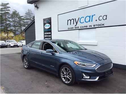 2019 Ford Fusion Hybrid Titanium (Stk: 201005) in North Bay - Image 1 of 21