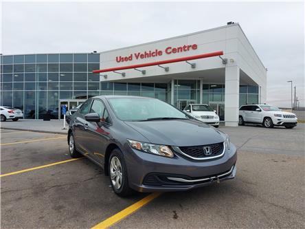 2015 Honda Civic LX (Stk: U204249) in Calgary - Image 1 of 24