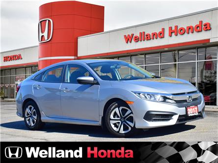 2017 Honda Civic LX (Stk: U20309) in Welland - Image 1 of 20