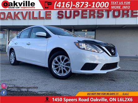 2017 Nissan Sentra SV | HTD SEATS | B U CAM | SUNROOF | ACCIDENT FREE (Stk: P0168) in Oakville - Image 1 of 21