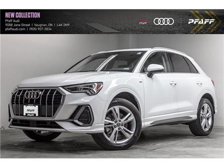 2021 Audi Q3 45 Progressiv (Stk: T18798) in Vaughan - Image 1 of 21