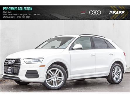 2017 Audi Q3 2.0T Komfort (Stk: C7865) in Vaughan - Image 1 of 21