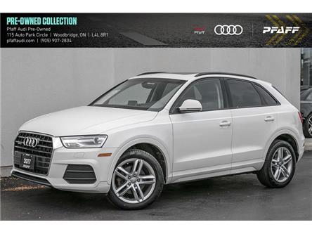 2017 Audi Q3 2.0T Komfort (Stk: C7872) in Vaughan - Image 1 of 22