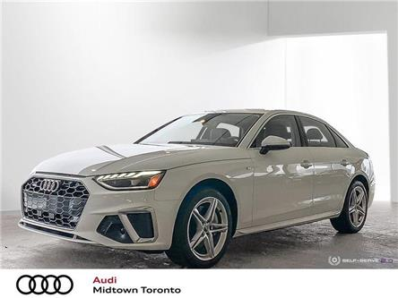 2020 Audi A4 2.0T Progressiv (Stk: AU8947) in Toronto - Image 1 of 22
