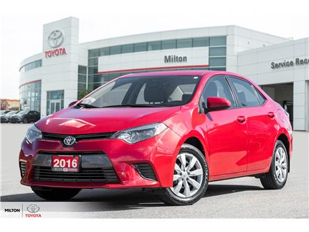 2016 Toyota Corolla LE (Stk: 575020) in Milton - Image 1 of 20