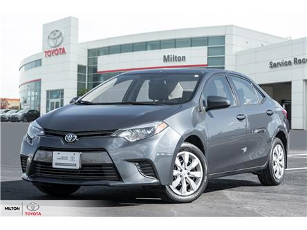 2016 Toyota Corolla LE (Stk: 737229) in Milton - Image 1 of 19