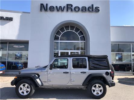 2018 Jeep Wrangler Unlimited Sport (Stk: 25096T) in Newmarket - Image 1 of 11