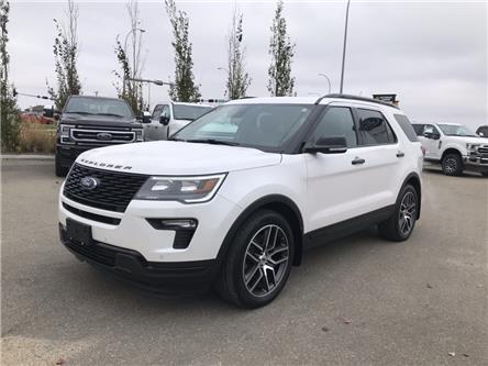 2018 Ford Explorer Sport (Stk: LEX080A) in Ft. Saskatchewan - Image 1 of 24