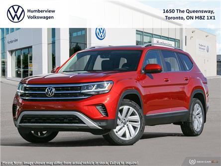 2021 Volkswagen Atlas 3.6 FSI Highline (Stk: 98010) in Toronto - Image 1 of 23