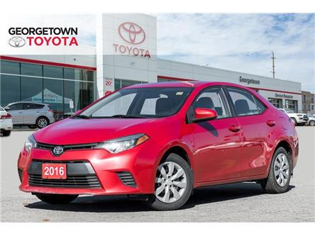 2016 Toyota Corolla LE (Stk: 16-65581GT) in Georgetown - Image 1 of 19
