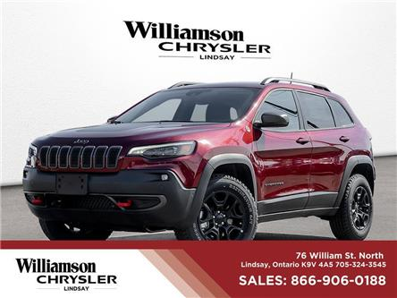 2021 Jeep Cherokee Trailhawk (Stk: 021-21) in Lindsay - Image 1 of 22