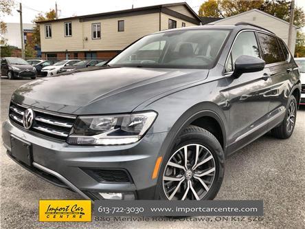 2018 Volkswagen Tiguan Comfortline (Stk: 113031) in Ottawa - Image 1 of 25