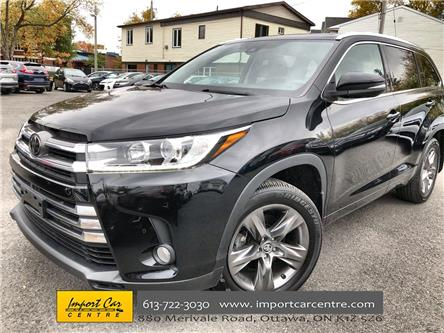 2018 Toyota Highlander Limited (Stk: 801437) in Ottawa - Image 1 of 27