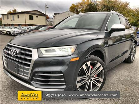 2018 Audi SQ5 3.0T Technik (Stk: 034684) in Ottawa - Image 1 of 26