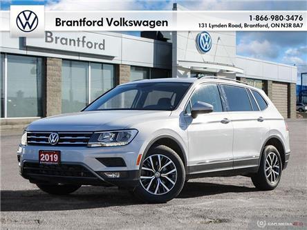 2019 Volkswagen Tiguan Comfortline (Stk: DR67529) in Brantford - Image 1 of 27