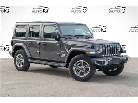 2021 Jeep Wrangler Unlimited Sahara (Stk: 34379) in Barrie - Image 1 of 26