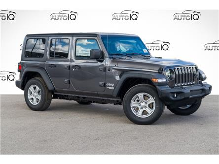 2021 Jeep Wrangler Unlimited Sport (Stk: 34426) in Barrie - Image 1 of 22