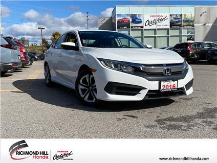 2016 Honda Civic LX (Stk: 203089P) in Richmond Hill - Image 1 of 17