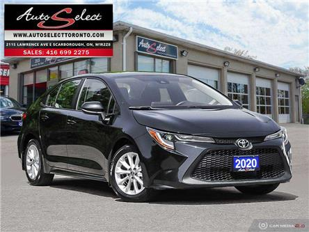2020 Toyota Corolla LE (Stk: T1H1R31) in Scarborough - Image 1 of 28