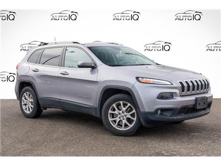 2017 Jeep Cherokee North (Stk: 34313AU) in Barrie - Image 1 of 6