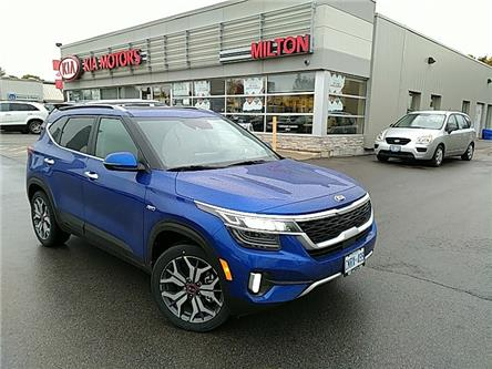 2021 Kia Seltos SX Turbo (Stk: 145117) in Milton - Image 1 of 5