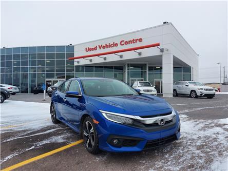 2016 Honda Civic Touring (Stk: U204251) in Calgary - Image 1 of 30