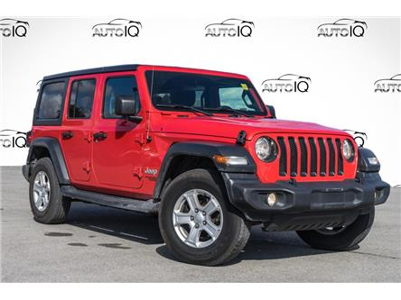 2019 Jeep Wrangler Unlimited Sport (Stk: 27782U) in Barrie - Image 1 of 23