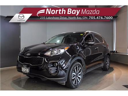 2018 Kia Sportage EX (Stk: 2141A) in North Bay - Image 1 of 21