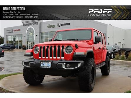 2020 Jeep Wrangler Unlimited Sahara (Stk: LC2175) in London - Image 1 of 22