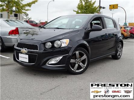2015 Chevrolet Sonic RS Manual (Stk: 0209571) in Langley City - Image 1 of 29