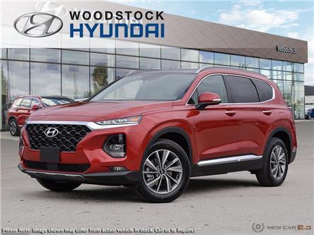 2020 Hyundai Santa Fe Luxury 2.0 (Stk: SE20036) in Woodstock - Image 1 of 10