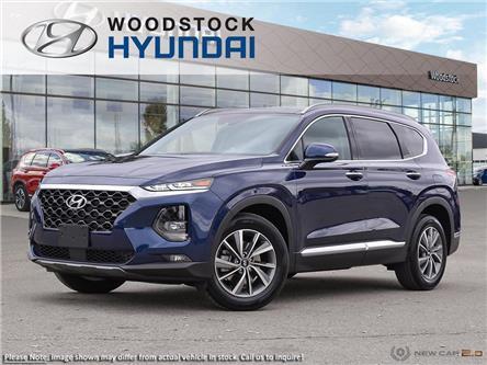 2020 Hyundai Santa Fe Preferred 2.4 w/Sun & Leather Package (Stk: SE20042) in Woodstock - Image 1 of 23