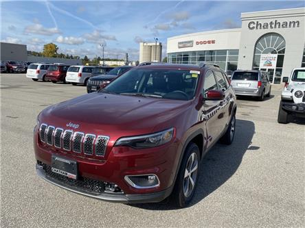 2021 Jeep Cherokee Limited (Stk: N04807) in Chatham - Image 1 of 17