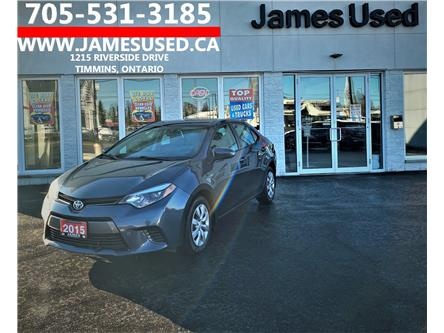 2015 Toyota Corolla LE (Stk: N2109A) in Timmins - Image 1 of 14