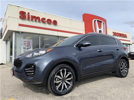 2017 Kia Sportage EX (Stk: 20172A) in Simcoe - Image 1 of 18