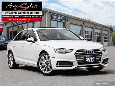 2019 Audi A4 Quattro (Stk: 1AW4T12) in Scarborough - Image 1 of 28