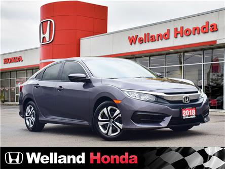 2018 Honda Civic LX (Stk: U20282) in Welland - Image 1 of 20
