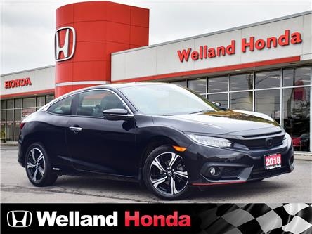 2018 Honda Civic Touring (Stk: U6851) in Welland - Image 1 of 22