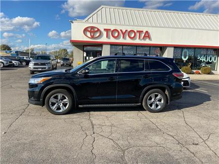 2016 Toyota Highlander  (Stk: 2006541) in Cambridge - Image 1 of 15