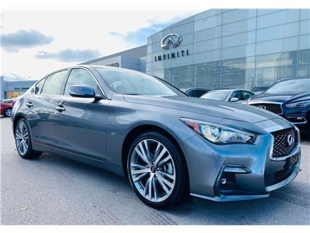 2019 Infiniti Q50 3.0t Signature Edition (Stk: H8406A) in Thornhill - Image 1 of 11