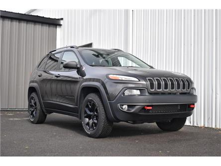 2018 Jeep Cherokee Trailhawk (Stk: UCP2162) in Kingston - Image 1 of 26