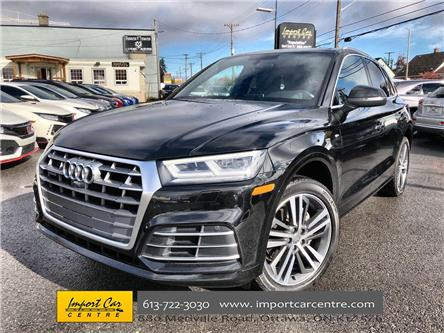 2018 Audi Q5 2.0T Technik (Stk: 199986) in Ottawa - Image 1 of 26