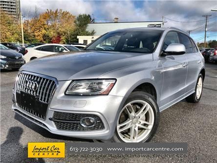 2017 Audi Q5 2.0T Technik (Stk: 038170) in Ottawa - Image 1 of 26