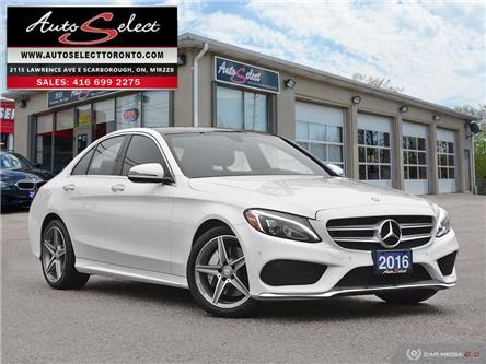 2016 Mercedes-Benz C-Class 4Matic (Stk: 1WRC3G1) in Scarborough - Image 1 of 28