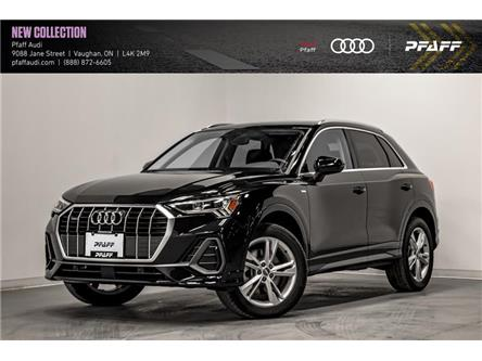2021 Audi Q3 45 Progressiv (Stk: T18828) in Vaughan - Image 1 of 21