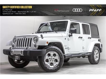 2015 Jeep Wrangler Unlimited Sahara (Stk: 53731) in Newmarket - Image 1 of 22